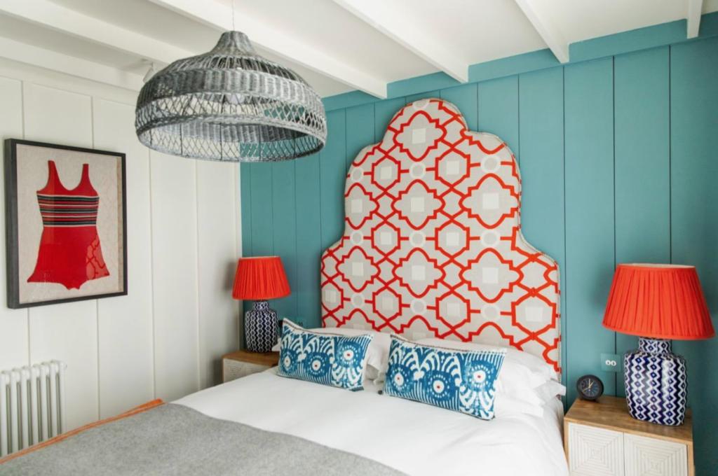 The Hamptons room at the Gallivant Hotel Rye UK