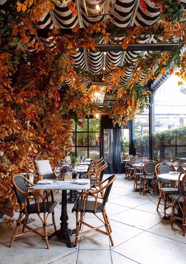 Dalloway Terrace, afternoon tea, brunch, London