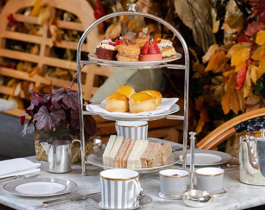 Dalloway Terrace, afternoon tea, brunch