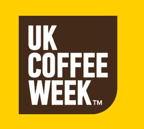 uk coffee week, logo, coffee picture