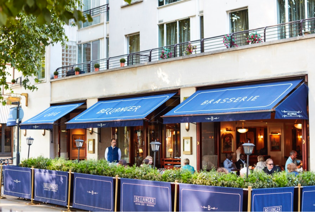 French restaurant, London, Islington, UK