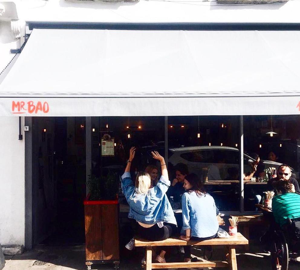 Taiwanese restaurant, Peckham, London, Mr Bao